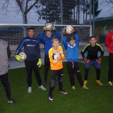 Torwartschule bei VfB Jugend