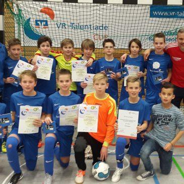 VfB D1 bei den Badischen Hallenmeisterschaften