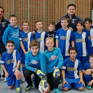 E1-Jugend des VfB wieder Hallen – Kreismeister