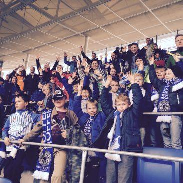 F-Jugend des VfB Bretten beim Bundesligaspiel in Hoffenheim