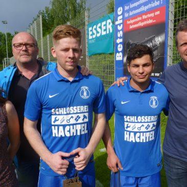 VfB verabschiedet Christian Izsak und Mesut Batmaz