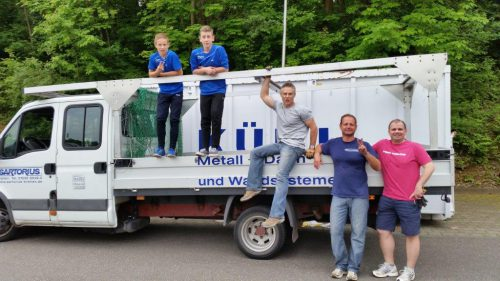 Im Einsatz waren auch Nigel Wenzel, Sven Prüfer und Markus Schöntag