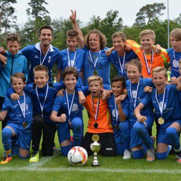 D1 Junioren vom VfB Bretten holen das Triple