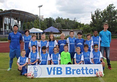 Foto:kri Das erfolgreiche Team der E 2 Junioren des VfB Bretten
