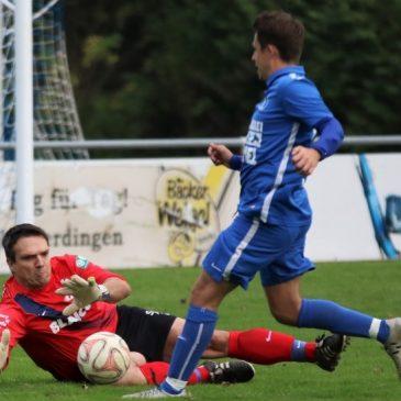 Knapper Eins zu Null Erfolg des VfB