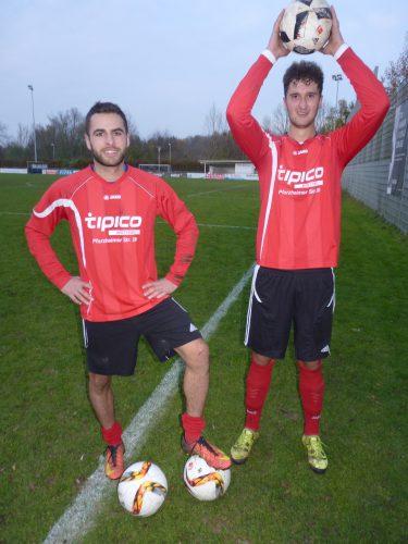 Foto:kri Luan König (li) mit zwei Treffern und Nico Pelz (re)per Kopfball waren die VfB Torschützen