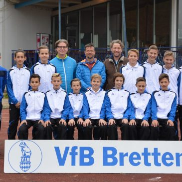 VfB C2 Junioren mit neuem Outfit