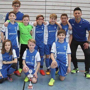 VfB E1 gewinnt  SV Kickers Pforzheim-Cup