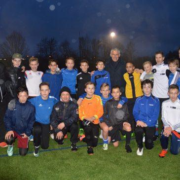 Hoher Trainerbesuch bei den C2 Junioren des VfB Brettens