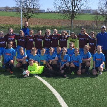 VfB D-Juniorinnen starten mit Heim – Remis