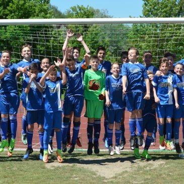 Erstes internationales D-Jugend Turnier beim VfB Bretten