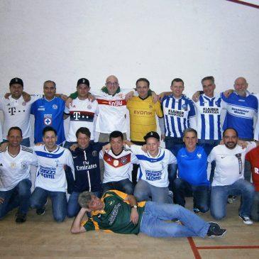 Kabinenfest der  VfB  AH Abteilung