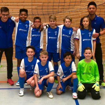 Die U12 des VfB Bretten gewinnt verdient das Hallenturnier in Straubenhardt