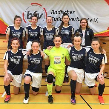 VfB B Juniorinnen bei den Badischen Hallenmeisterschaften