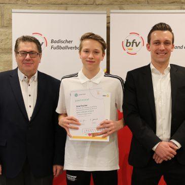 Erik Fischer ist DFB Junior Coach