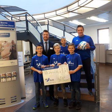 BBBank unterstützt U12 des VfB Bretten