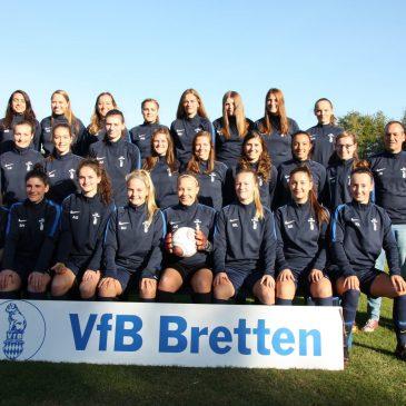 Sparkasse Kraichgau unterstützt Damenmannschaft des VfB Bretten
