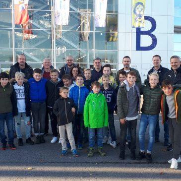U12 zu Gast bei den Rhein-Neckar-Löwen