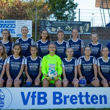 VfB C Juniorinnen Staffelsieger in der Verbandsliga