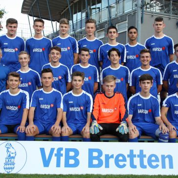 VfB  B1 als Kreismeister bei der Badischen