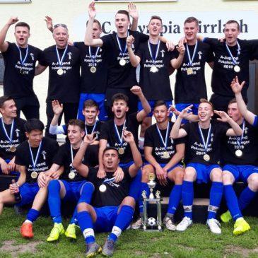 VfB Bretten A-Jugend Kreispokalsieger und Vizemeister Landesliga Mittelbaden