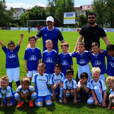 Viel Fußballspaß bei den VfB Bambini