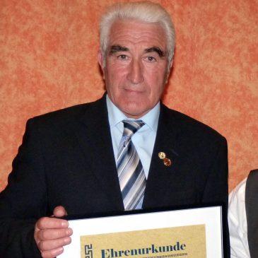 Herzlichen Glückwunsch                                   VfB Ehrenvorstand Hartmut Glaser wurde 75  (30.09.19)
