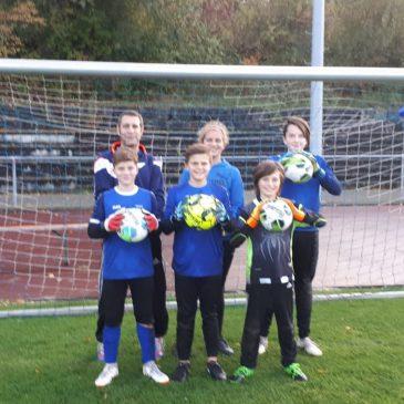 VfB Bretten fördert seine Jugendtorhüter