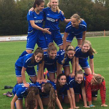 B Juniorinnen des VfB Bretten verdient Staffelmeister in der Landesliga
