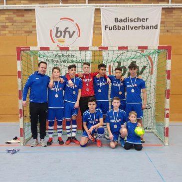 Jugend des VfB Bretten bei Hallenkreismeisterschaften erfolgreich!