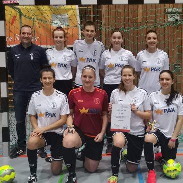 Dritter Platz für VfB Frauen bei den Badischen Hallenmeisterschaften