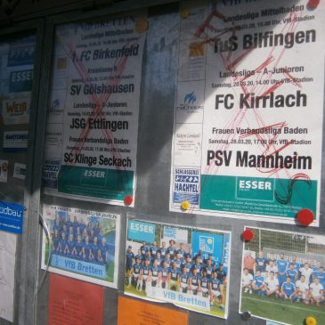 Lange Fußballpause