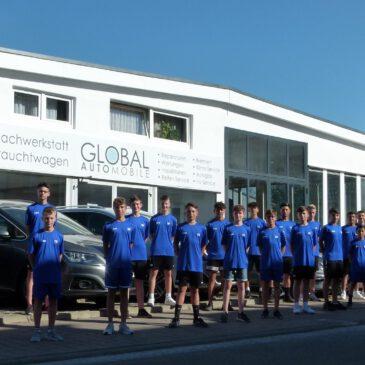 Autohaus Global Automobile sponsert U 15 des VfB Bretten