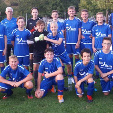 BBBank unterstützt U14 des VfB Bretten