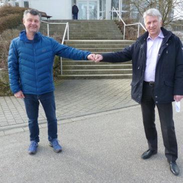 Stadtwerke unterstützen Jugendarbeit des VfB Bretten