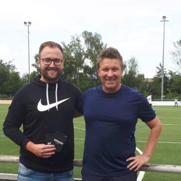 Marcel Kraus als Jugendtrainer verabschiedet