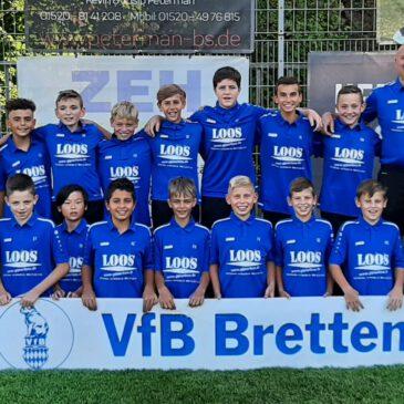 Erfolgreicher Saisonstart der VfB D-Junioren